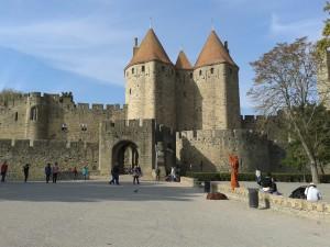 Carcassonne La Cité bungalowpark-frankrijk